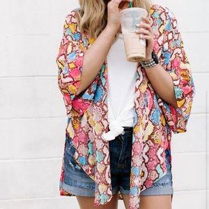 Colorful Kimono